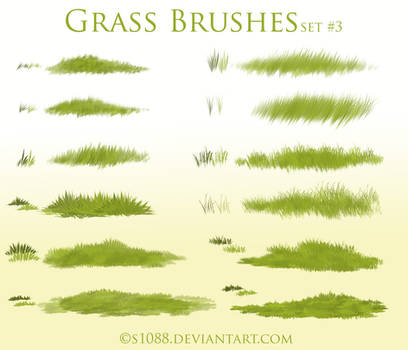 Pay to Use: Grass Brushes #3