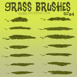 Pay to Use: Grass Brushes #4