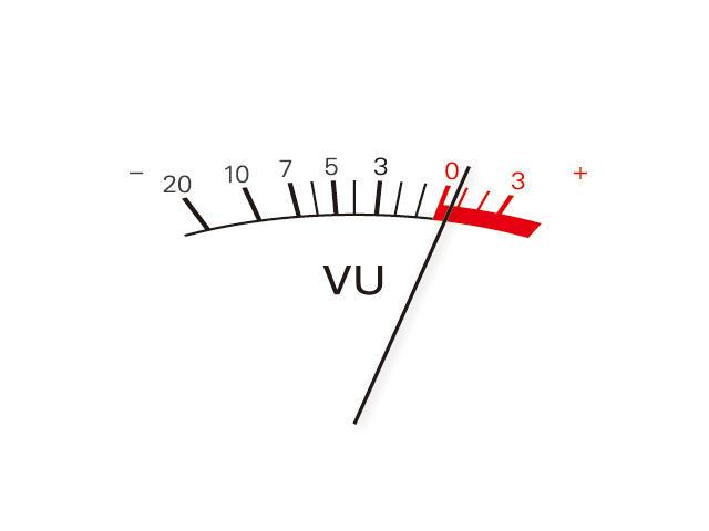 simple VU meter by masaakikaji