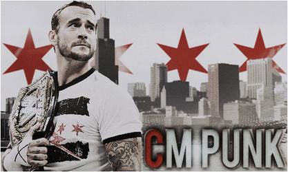 WWECM Punk Throwback Animated Signature
