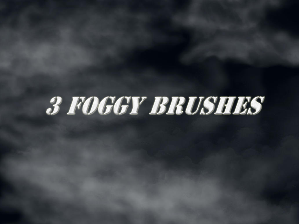 Three Fog Brushes by simfonic