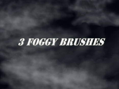 Three Fog Brushes