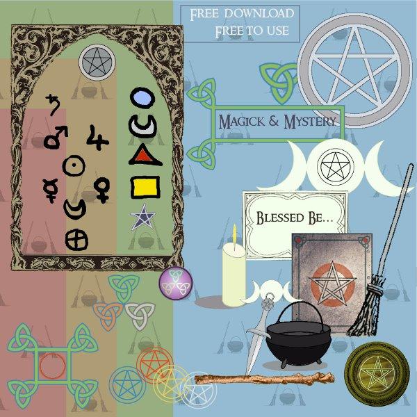 Pagan ClipArt Kit 01
