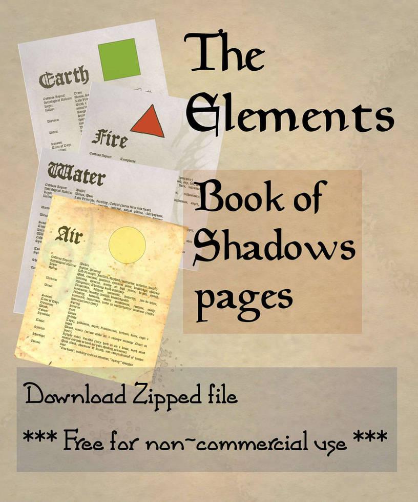 Book of Shadows 01 compendium by Sandgroan on DeviantArt
