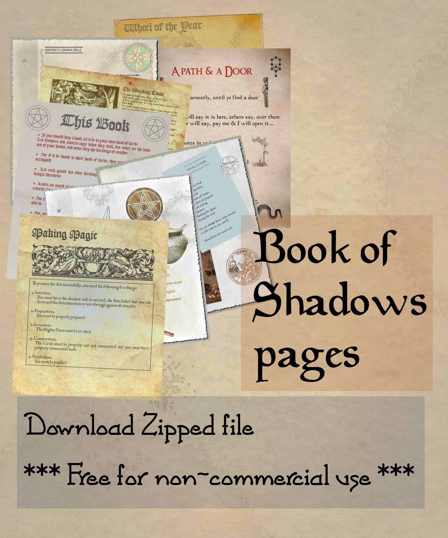 Book of Shadows 02 compendium
