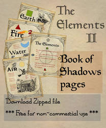 Book of Shadows 03 compendium by Sandgroan