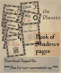 Book of Shadows 04 compendium by Sandgroan