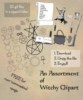 Pagan ClipArt Kit 02 by Sandgroan