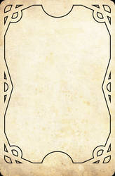 Tarot Rangers Template Card by OnirikWay
