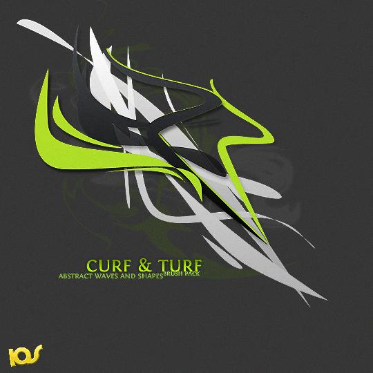 Curf n Turf Brush Pack