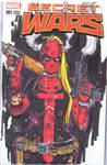 Lady Deadpool sketch Cover