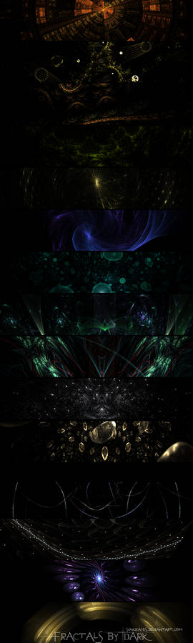 Second Pack Fractals By +Dark