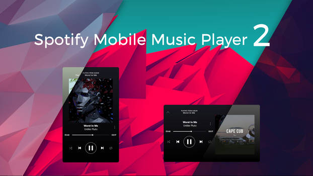 Spotify Mobile Music Player v2.01