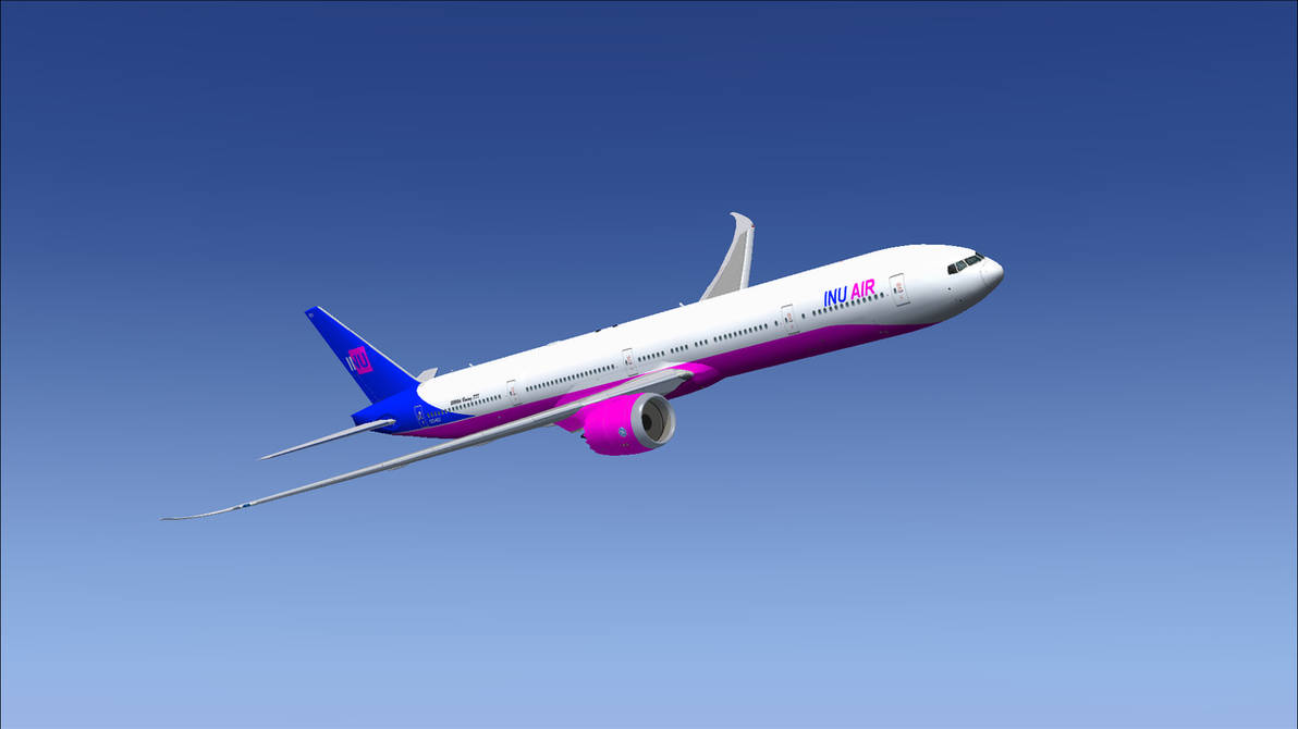 SSP Boeing 777-9X INU Air repaint by HYPPthe on DeviantArt