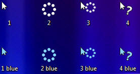 Windows 8 style cursor