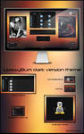 GlassyBum dark version theme