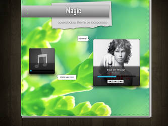 Magic covergloobus theme by iacoporosso