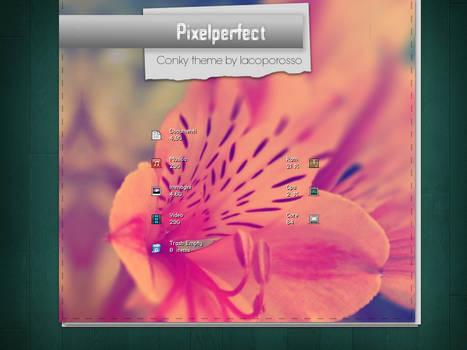 Pixelperfect conky theme