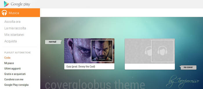 Playmusic covergloobus theme by iacoporosso