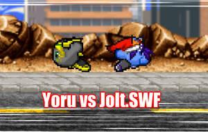 :.Kirby Animation.: Yoru vs Jolt