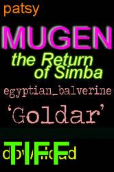55color lmtcode 'Goldar' egyptian_balverine MUGEN by BlackrockLegacies