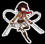 Mikasa Pixel Doll