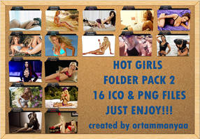 Hot Girls Folder Pack 2 by ortammanyaa