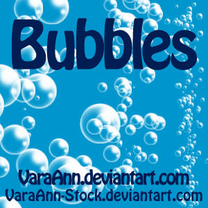 Bubble Brush by VaraAnn-Stock