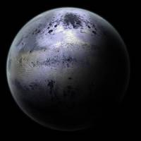 Brushed Metal Planet