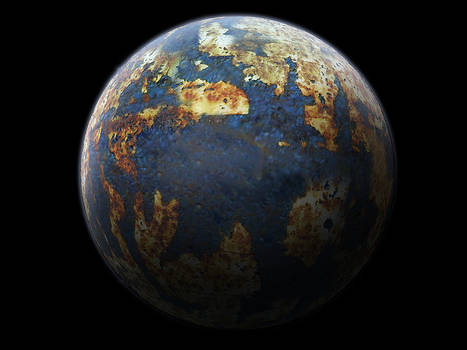 Desert Earth Planet