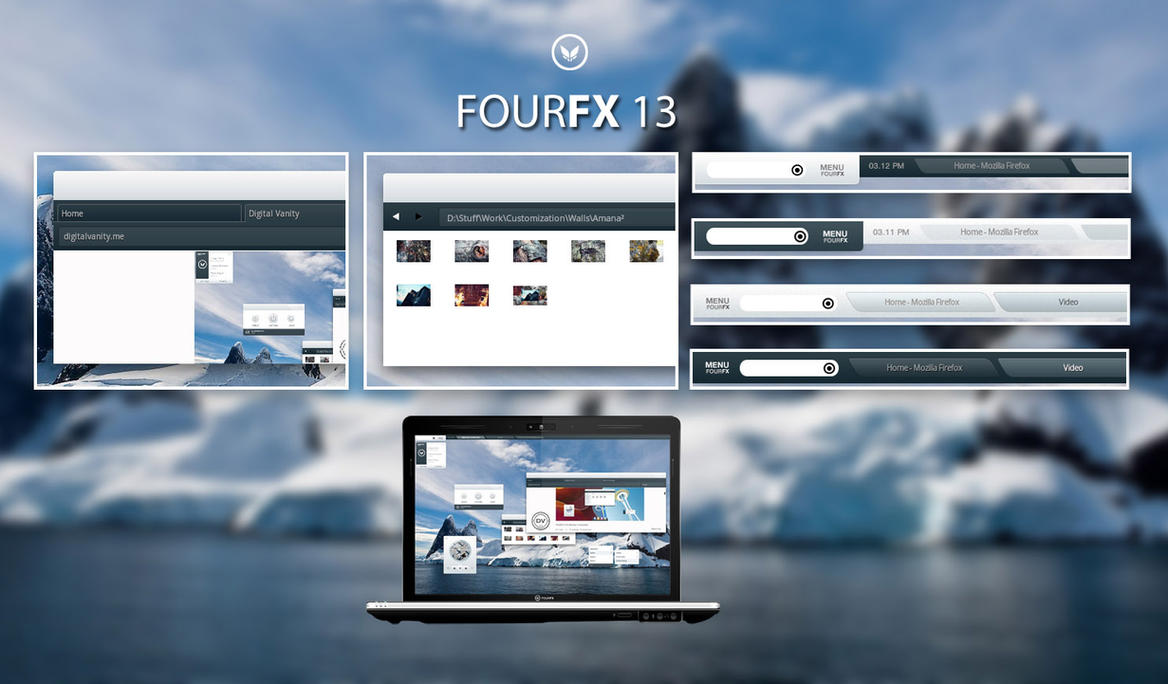 FOURFX13 for Litestep by cathycatchy