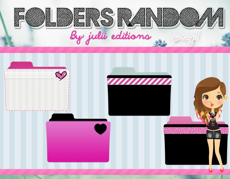 Folders Random by julii478