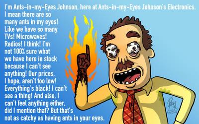 Ants In My Eyes Johnson Wallpaper by brilliantflare