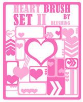Heart Brush Set II by blushing