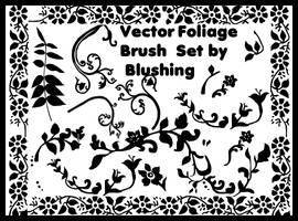 Vector Foliage Brush Set by blushing