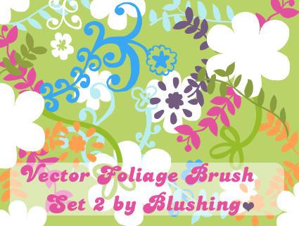 تحميل فرش فوتوشوب، فرش زهور، فرش ورود، فرش فواكه، فرش فوتوشوب للتحميل مع الصور Vector_Foliage_Brush_Set_II_by_blushing