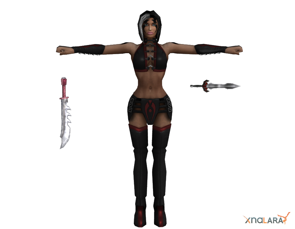 Mortal Kombat - Sareena by deexie