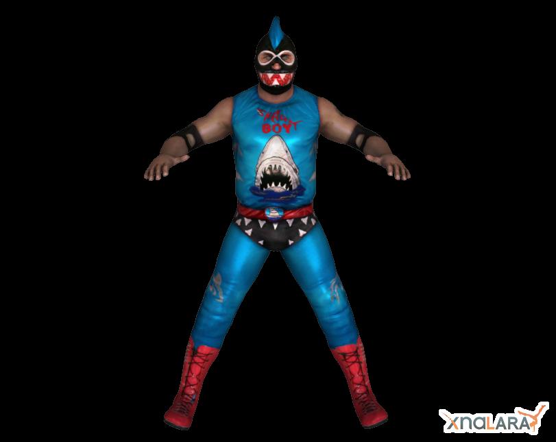 Shark Boy for XNALara by deexie