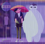 my neighbor baymax by muttonfudge
