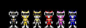 Denji Sentai Megaranger by robinosuke