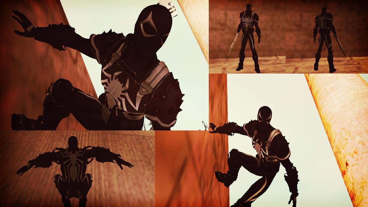 Agent Venom Flash Thompson GTA SA Skin by robinosuke