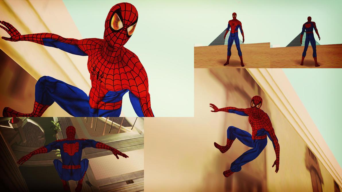 Ultimate Spider-Man [1610] GTA SA Skin by robinosuke