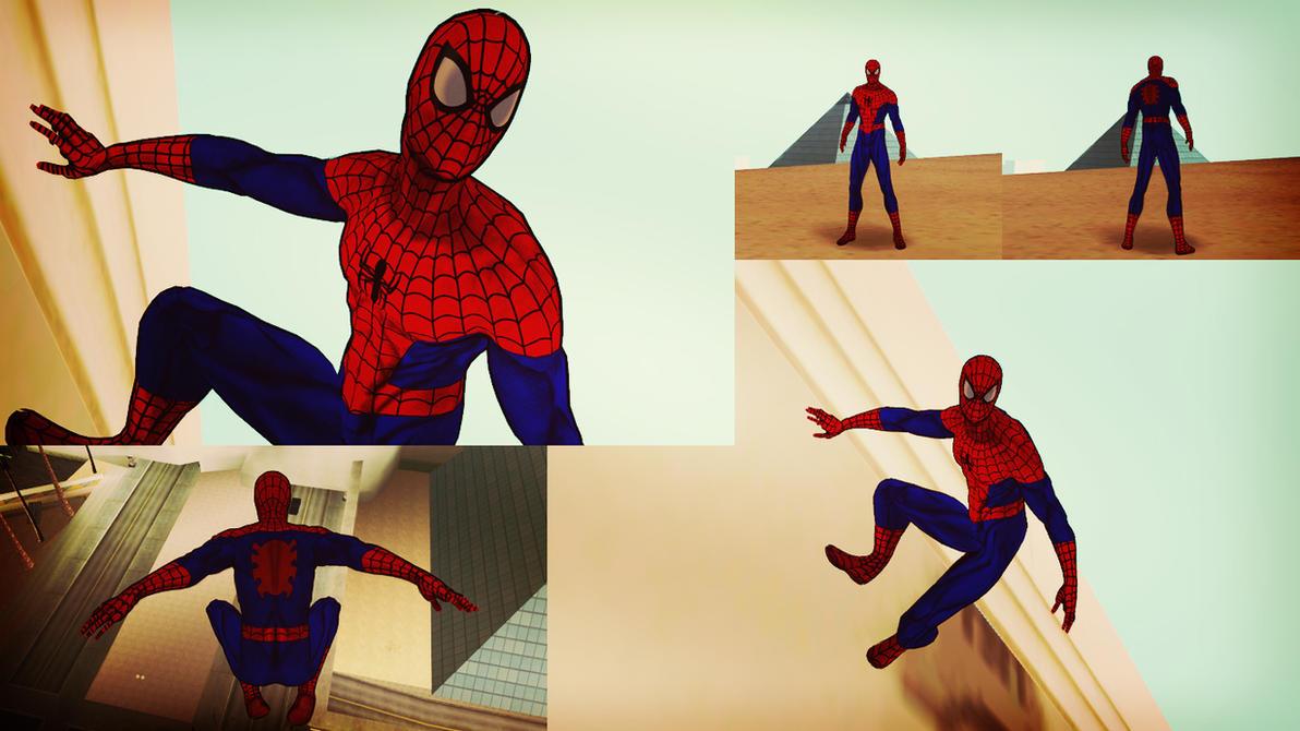 Ultimate Spider-Man [Cartoon] GTA SA Skin by robinosuke