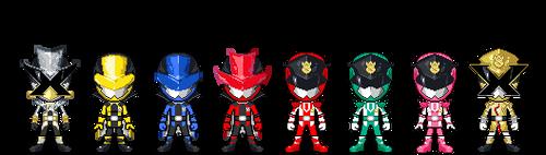 Lupinranger VS Patranger by robinosuke
