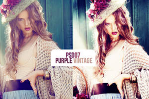 PSD07-Purple Vintage by NikiBigbangGD