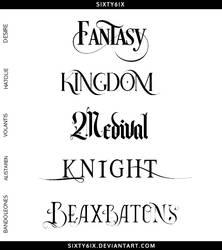 Fantasy Font Pack
