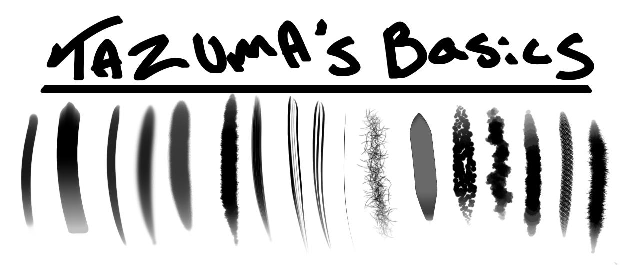The Basics Photoshop Rendering Brushes By Tazuma On Deviantart