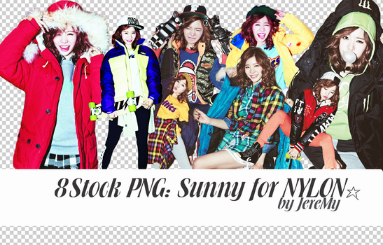 [PNGset11] SNSD's Sunny