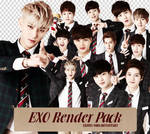 [PNGset19] EXO for 'Let's BONGx3 Together' Game