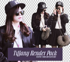 [PNGset20] SNSD's Tiffany in airport to Japan by exotic-siro